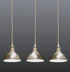 Petite suspension en nickel D : 5,5'' H : 40'', Chez Balivernes Boutique