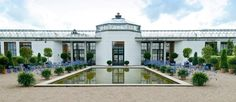 Fredensborg Palace - Orangeriet - the Green House