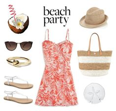 """""""Bachelorette Weekend"""" by polyvore-editorial ❤ liked on Polyvore featuring American Eagle Outfitters, Accessorize, Linda Farrow, MIA, Oggi, Banana Republic, Tory Burch and Simon Pearce"""