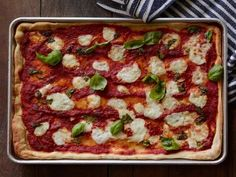 Tyler's Margherita Pizza #PizzaRecipe #TylerFlorence