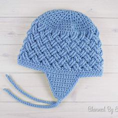 Celtic Dream Earflap Hat - Sizes from Newborn to XL Adult [Free Crochet Pattern] ONLY FREE crocheting patterns for Amigurumi, Toys, Afghans, Baby Blankets, New Stitches and Tutorials and many more! #crochetpattern #celtic #freecrochetpatterns #hat
