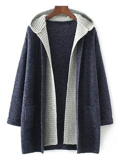 $37.99 for Hooded Faux Twinset Cardigan