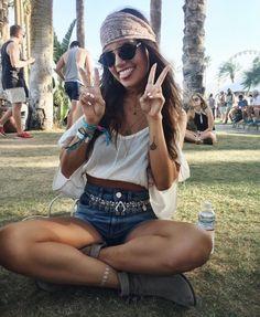 tess christine at Coachella 2016 | pinterest: @nickibryson