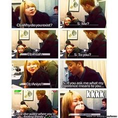 Seungri and CL: Dog-cat relationship XD | allkpop Meme Center