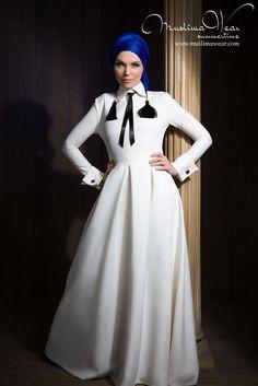 US Muslim women's wear. Maxi dress City Sky