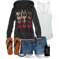 """Comfy AE Day"" by latkins77 on Polyvore"