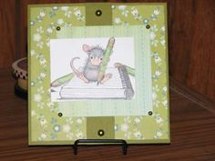 """""""just a note"""" by karen adams on House-Mouse Designs"""