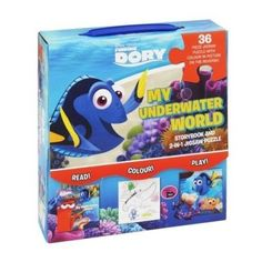 Finding Dory Storybook and 2-in-1 Jigsaw Puzzle