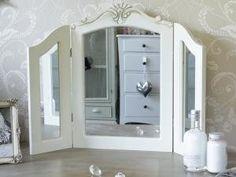 Melody Maison LOR425 / 394020 V - Espejo de mesa: Amazon.es: Hogar
