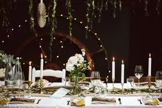 Meer by Anna-Maria Dahmen Table Settings, Anna, Candles, Table Decorations, Design, Home Decor, Waves, Mariage, Table Top Decorations
