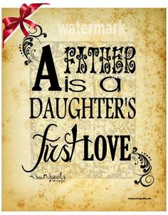 Christmas Gift for Dad PRINT ONLY  A Father is a by SoulSpeaks