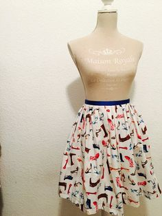 Skirt Make a statement by CataleyaByMiryana on Etsy