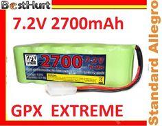 Akumulator 7.2V 2700 mAh GPX do Samochodów HSP HPI