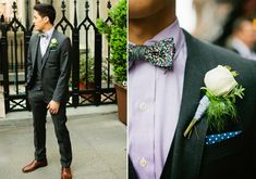 Paul Smith grooms suit   photos by Shannon Nastasha Weddings   100 Layer Cake