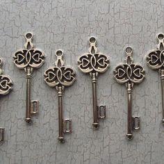 Skeleton Keys (dangle them off the halter)