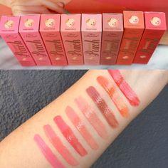 Too Faced Sweet Peach Lip Gloss Swatches #tfsweetpeach @toofaced