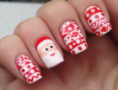 Easy Christmas Nail Polish Ideas