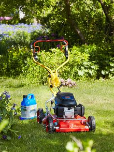 Aspen & Klippo | Mow your lawn with  environmentally friendly gasoline