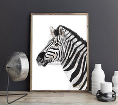 Zebra Print. Animal Print. Zebra Wall Art. Living Room Wall Art. Kitchen Decor. Large Wall Art. Bedroom Wall Art. Zebra Decor. Zebra Art. → Your art prints will be originally signed and numbered by the artist. → All art prints come UNFRAMED and WITHOUT THE WATERMARK. ► SHIPPING: The Small Wall Decor, White Wall Decor, Modern Wall Decor, Large Wall Art, Zebra Decor, Zebra Art, Modern Art Pictures, Zebra Painting, Living Room Art