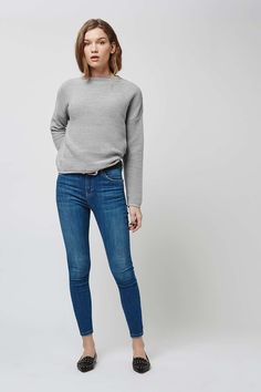 Horizontal Ribbed Sweatshirt