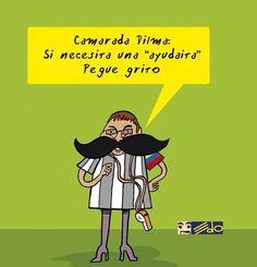 "Caricatura de Eduardo Sanabria (EDO), ex caricaturista del diario ""El Mundo"", de Caracas."
