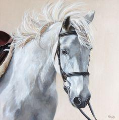 Noodles by Carolyn Nikolai   Horse portrait painting :: Pony