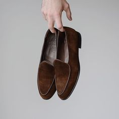 One of my coolest pick ups from this past summer.  #burzanhands @berwick1707_official for @leatherhealer. The suede color is beautiful so much depth for a darker brown shade. Ive really found these to be a lot easier to pair than I expected they are shockingly versatile. . What were your favorite spring/summer purchases? . . . #berwick1707 #leatherhealer #rakish #rakishgent #coverbookstyle #dailylast #goodyearwelt #goodyearwelted #classicmenswear #stylishmen #menstailoring #stylishgent… Berwick Shoes, Your Shoes, Men's Shoes, I Cool, Cool Stuff, Cool Picks, Goodyear Welt, Stylish Men, Designer Shoes