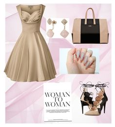 """Bez naslova #4"" by erna-plavsic ❤ liked on Polyvore featuring Ruthie Davis and Michael Kors"