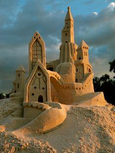 Ephemeral art: Sand Castle, Fort Meyers, Florida photo by amazin walter