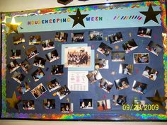 Let the whole hotel get to know your team. During International Housekeeping Week, dedicate space on a team area wall to celebrate your Housekeeping team. Each day select a group of Housekeepers, and post their pictures and names. Include notable (and appropriate) information about each Team Member.