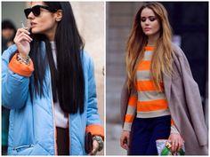 2014/2015 sonbahar/kış modası,turuncu, kobalt mavi,2014/2015 kış renkleri www.vogueisart.com