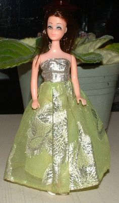 """Angie wearing """"Dance Till Dawn"""" gown."""