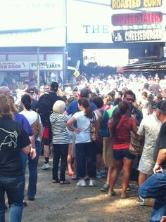 First Monday Trade Days, Canton, Texas. The sea of people. It was amazing.