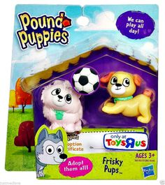 Hasbro Pound Puppy Pairs - Frisky Pups - Adorable Pups! Toy Figure - 3+ #Hasbro - $28.99 - June 19, 2014 - #FreeShipping