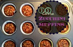 Saturday Morning: 35 Calorie Zucchini Muffins Zucchini Bread, Zucchini Recipes,