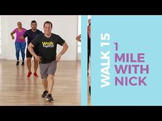 Sweat along to our new Walk 15 One Mile Walk with Nick! GET all of the WALK 15 Workouts led by Leslie, Nick, Rocky, Kamilah and Nadyia . 15 Min Workout, Dumbbell Workout, Workout Videos, Exercise Videos, Yoga Videos, Walking Exercise Video, Walking Workouts, Easy Workouts, At Home Workouts