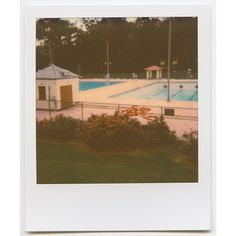 Photo Diary Summer Color Theory featuring Impossible Project ❤ liked on Polyvore featuring polaroids