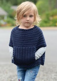 Baby Knitting Patterns Sweter Ravelry: Osyan Cape Pullover pattern by Heidi MayKnitting pattern for chunky hooded ponchoRavelry: motif Pull Osyan par Heidi May – Idées de CrochetThis super easy crocheted kimoThis super easy crocheted kimono is so Knitting For Kids, Crochet For Kids, Knitting Projects, Baby Knitting, Crochet Projects, Knitting Patterns, Crochet Patterns, Knitted Baby, Diy Tricot Crochet