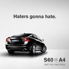 """Repin"" if you have haters. #S60vsA4"