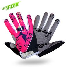 BATFOX Cycling gloves Women's Autumn Full Finger Winter Bicycle Gloves Floral Print high quality Shockproof MTB Road Bike Gloves //Price: $US $10.74 & FREE Shipping //     #hashtag3