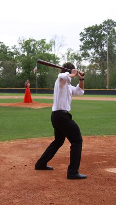 Prom pictures for baseball season