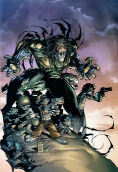 Darkness by Marc Silvestri #Comics #Illustration #Drawing