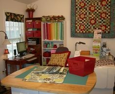 Another quilt studio ((Pat Sloan))