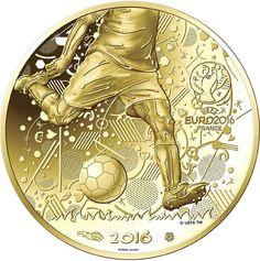 100 Euro Gold UEFA Euro 2016 UN