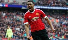 Anthony Martial takes Manchester United past Everton to final at the last
