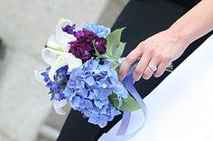 Bridesmaids bouquet? Minus the purple.