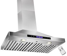 Golden Vantage Range Hood With Gas Sensor