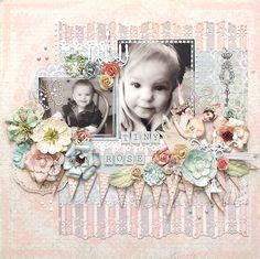 {Tiny Rose} *Prima* - Scrapbook.com Wendy Schultz onto Scrapbook Art.