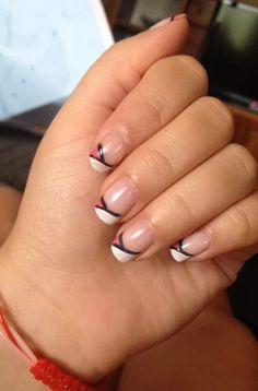 French nail art!