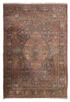 KASHAN MOHTASHAM CARPET CENTRAL PERSIA, LATE 19TH/EARLY 20TH CENTURY 422CM X 278CM - SALE 411 - LOT 885 - LYON & TURNBULL